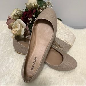 Call It Spring Nude Ballet Flats